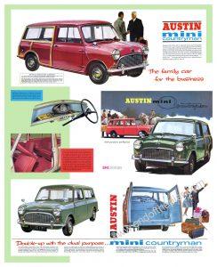 Austin Mini Countryman Poster