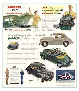 Morris Minor poster