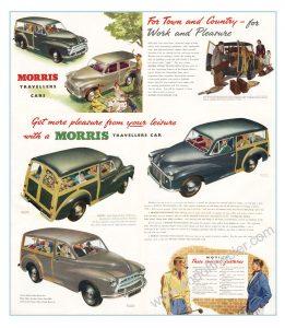 Morris Minor Traveller poster