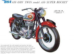 BSA 1960 detail 1