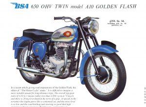 BSA 1960 detail 3