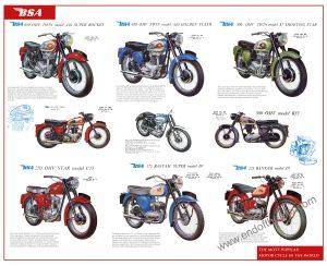 BSA 1960 poster