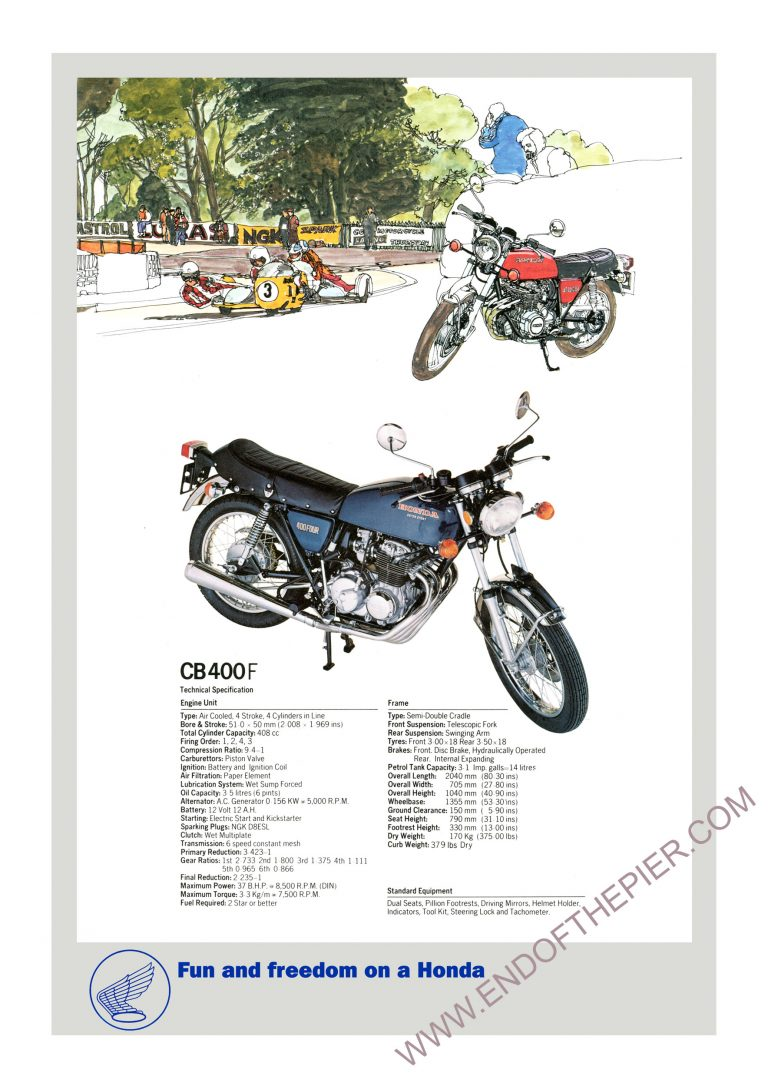 Honda CB400Four Poster