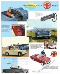 1960s MG Midget Poster