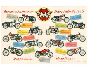 1960 matchless poster