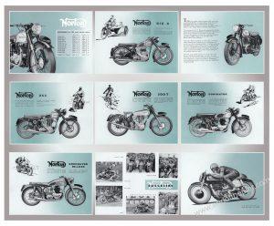 1954 Norton range poster